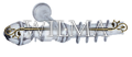 Элегант 1-х рядный Пластик с метал. трубой с крючками 240 (закрыт кронштейн) – фото 1