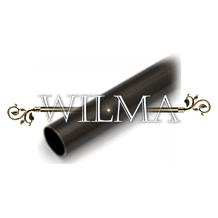 Труба гладкая Д16 Черный 180 – фото 2