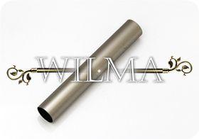 Труба гладкая Д16 Сатин 200 – фото 1